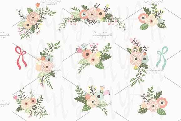 Floral Bouquet Elements
