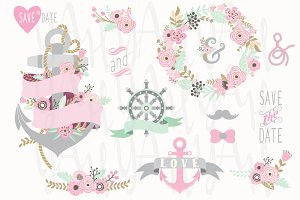 Nautical Floral Collections