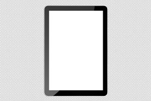 Tablet ipad PSD