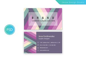Modern Business Card Template Vol-06