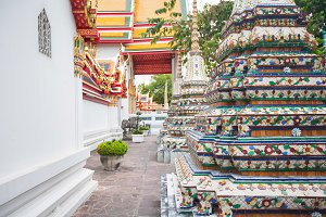 Wat Pho temple at Bangkok