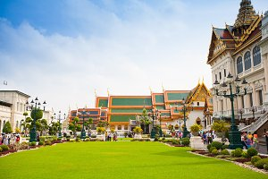 Royal palace in Bangkok