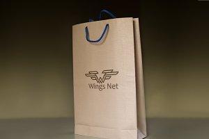 Winds Net Logo Template