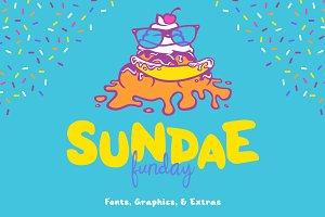 Sundae Funday Fonts & Graphics