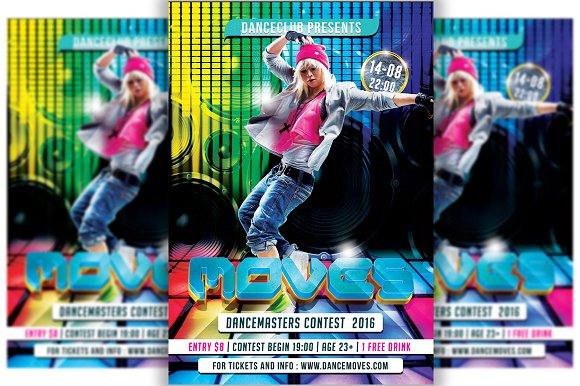 Dance Moves Flyer