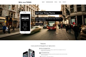 Sell Your Thing WordPress Theme