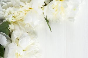 Frame from Peonies and Petals
