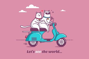 "Illustrations ""Let´s see the world"""