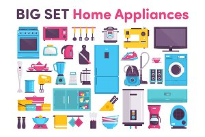 BIG SET Home Appliances