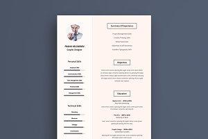 Pro Resume Cv Template