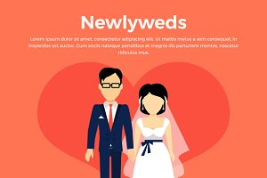 Newlyweds Couple