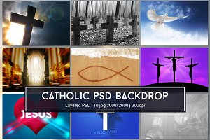 Catholic PSD Backdrop