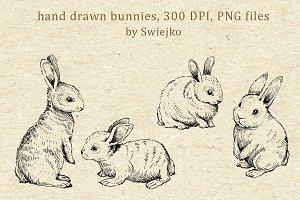 Easter Bunnies, Doodle