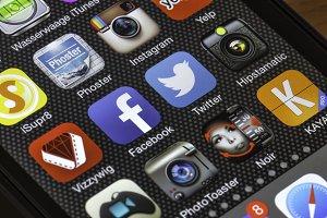 Social Media on a Phone #2
