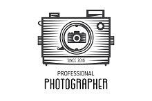 Logotype for photographers