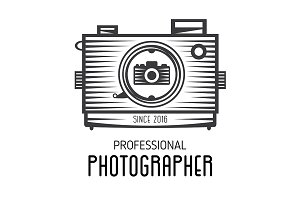 Logotype for photographers