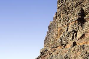 Los Gigantes Cliff in Tenerife