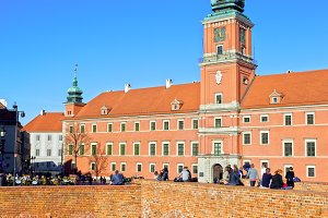 Royal Castle in Old Town of Warsaw