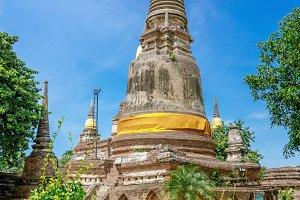 Ayutthaya Historical Park stupa