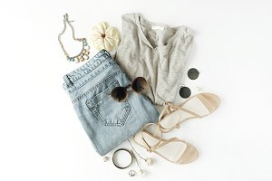 Clothes & accessories collage