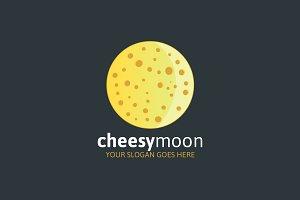 Cheesy Moon Logo