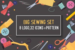 Big Sewing set