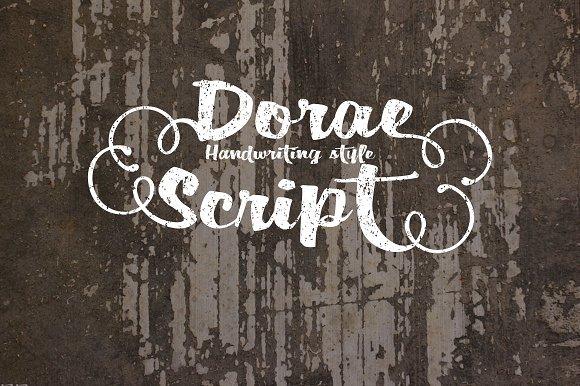 Dorae Script TureType Font