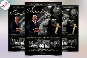 Sunday Praise Flyer Template