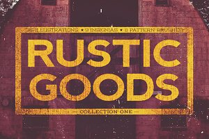 Rustic Goods Vector Handcraft