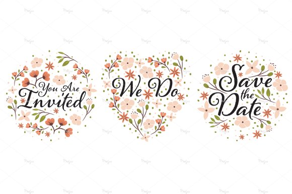 Wedding Clipart Designs PNG And EPS Illustrations Creative Market