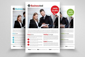 Business Strategy Flyer Template