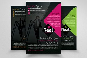 Business Marketing Flyer Template