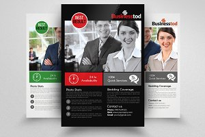 Business Dealing Agency Flyer