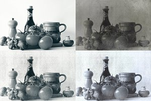 8 Vintage Matte Image Effects