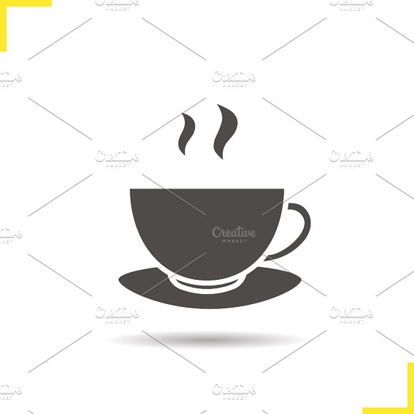 Coffee cup icon. Vector - Icons