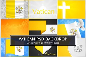 Vatican PSD Backdrop