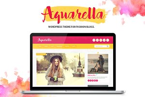Aquarella - Elegant Wordpress Theme