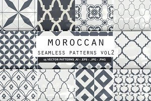 Moroccan Seamless Patterns vol2