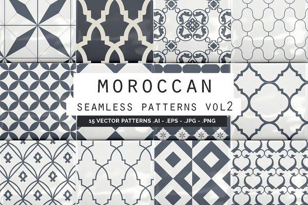 Moroccan Seamless Patterns vol2