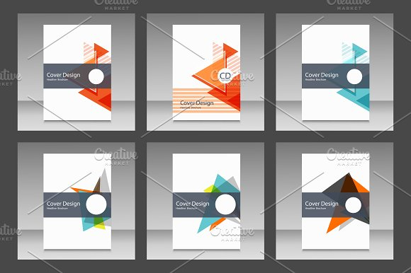 Cover design annual report Vol.2 - Brochures