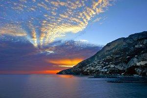 Amalfi sunset
