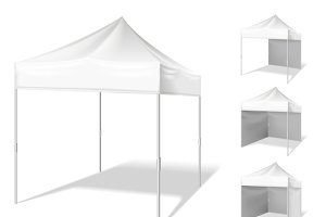Pop up tent for outdoor event