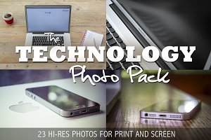 Technology Photo Pack - 23 HR pics