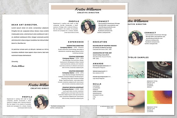 Resume Kit for Designers 8.5 x 11 - Resumes