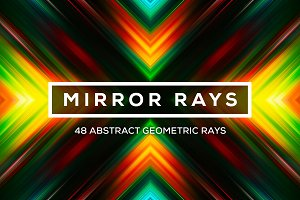 Mirror Rays: 48 Geometric Rays