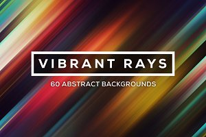Vibrant Rays: 60 Ray Backgrounds