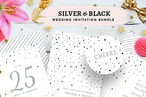 Silver Confetti Wedding Bundle