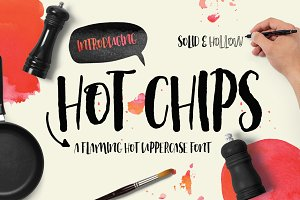 Hot Chips Font Typeface