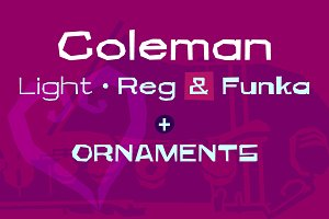 Coleman Font Family
