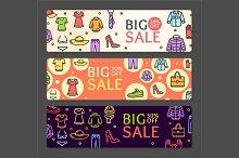 Seasonal Clothing Sale Banner